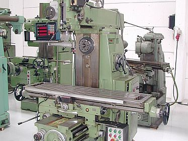 Milling machines, conventional