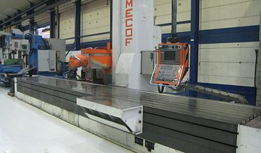 CNC Bed milling machines